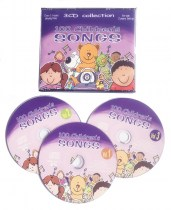 100 Children's Songs 3 CD set