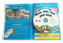 row row row your boat DVD artwork